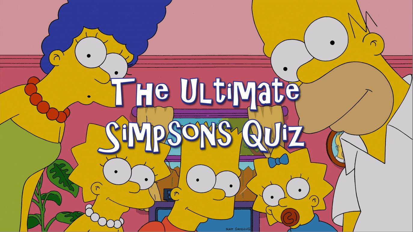 The Ultimate Simpsons Quiz Horror Geek Life