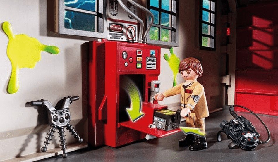 Toy Review Ghostbusters Firehouse By Playmobil Horror
