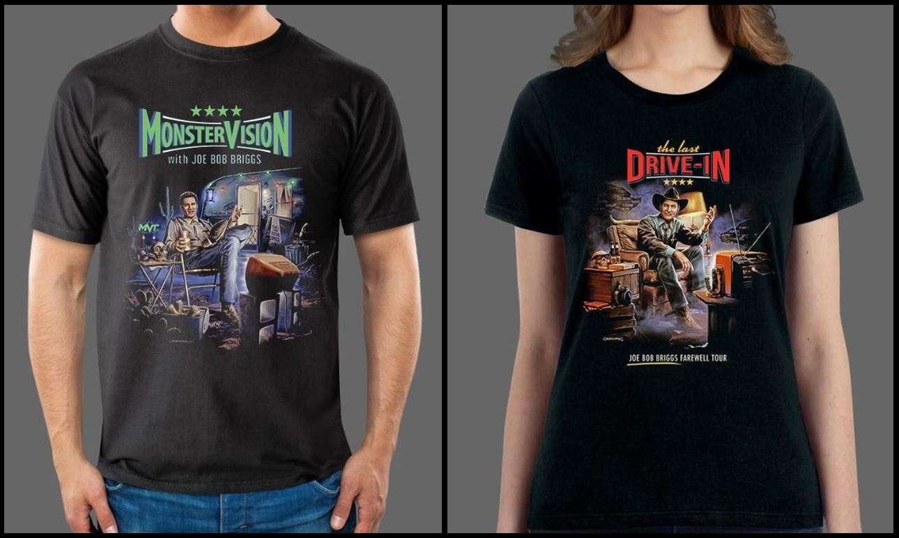 Fright-Rags Adds New Collections Including Joe Bob Briggs