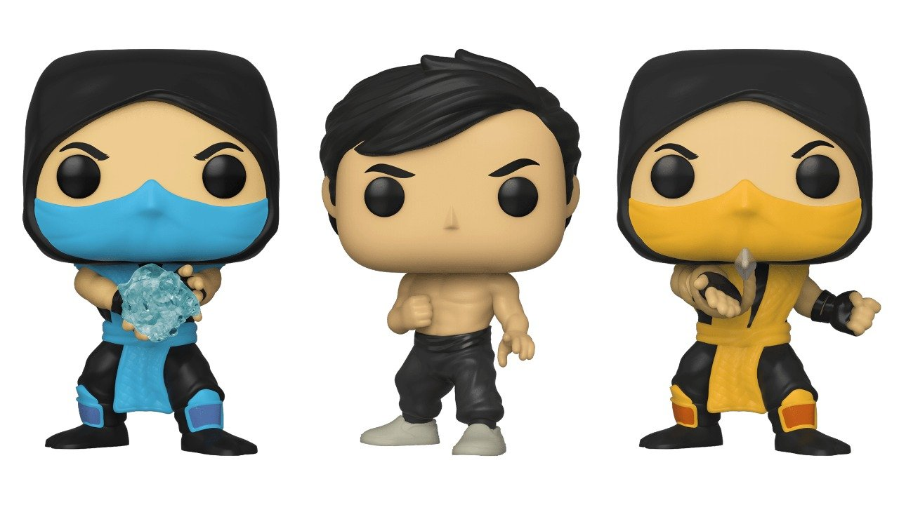 Funko Unveils Amazing Mortal Kombat Pop Figures Horrorgeeklife